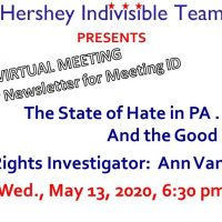 5/13/20 Monthly Meeting